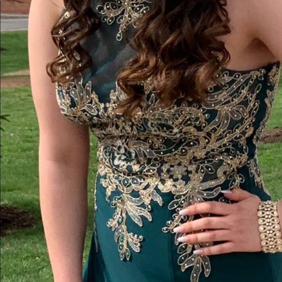 Dresses & Skirts - Size 12 Formal Long Dress Prom / Party Dress